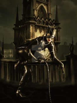 Catwoman by babsartcreations