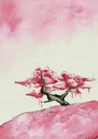 Bonsai Blossom. by SprinkleSprankles