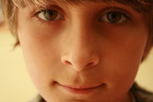 brown eyed boy by kitchentiles