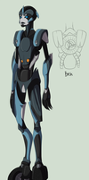 Transformers Prime OC Alterve by lledra