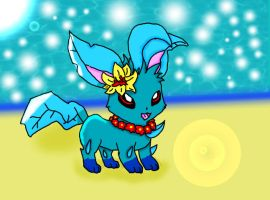 Icy Leafeon by ClannadLover22