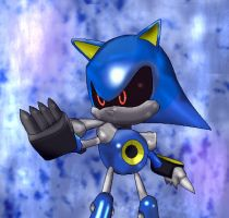Metal Sonic by Metal-Overlord