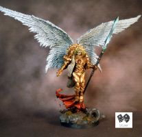 Sanguinus Lord of the Host of Blood Angels by lilloser40K