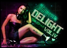 "Flyer ""DELIGHT VOL.4"" by TheBlizZart"