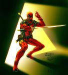 Deadpool - Ikharion colors by SpiderGuile