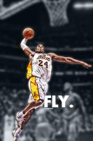 Kobe Bryant Monster Dunk by lisong24kobe