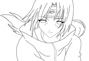 Line Art - Itachi-sama by Loveless479