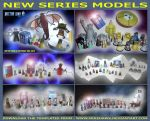 Doctor Who - New Series Models by mikedaws