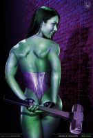 She-Hulk 2 by ROCINATE