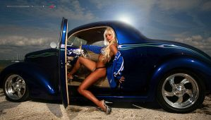 Electric Glide in Blue by GWBurns