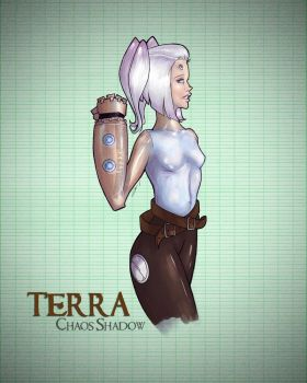 Terra the Android by underconztruction