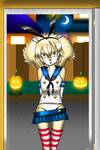 Linge Tricky or Treaty Halloween by cesaralexis