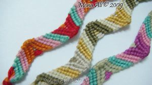 Friendship Bracelet , Zig zag by Noomy