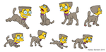 Smithers Dog Collage Number Seventeen by KelseyEdward