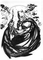 Work Sketch: Batman by jonathan-rector