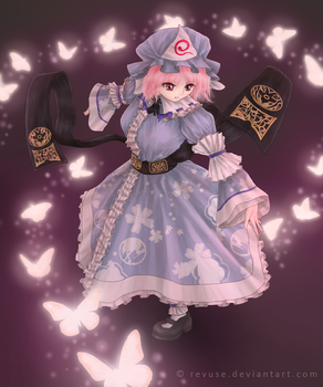 Yuyuko by revuse