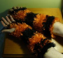 fuzzy arm warmers 1 by marcsandroid