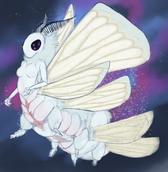 Space Moth by OverlordPatsy