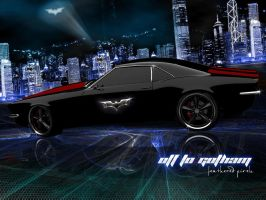 Camaro - ...off to Gotham City by featheredpixels