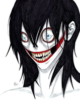Jeff the killer by Sakkigami