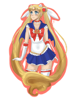 Usagi - Sketch Thing by KaylynRaelea
