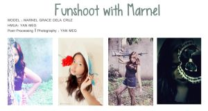 FUNSHOOT WITH MARNEL GRACE by akadiaknight17
