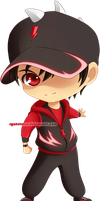 Commish: Chibi BBB Halilintar by ryocutema
