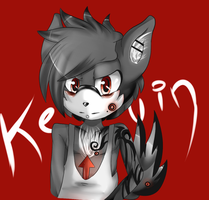 kevin the wolf by AshleyShiotome