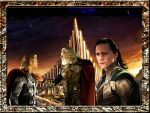 The legend of Loki and Sigyn -1 by turlena08
