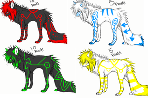 More tron adopts -OPEN- by StrawberryJuicie