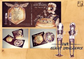 Album Cover Art - 'Our Slight Indulgence' by Miss-Belfry