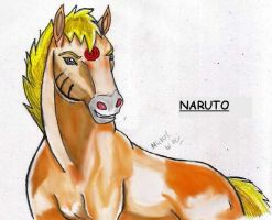 Naruto Stallion by MWRoach