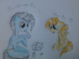MLP:FiM - Me and my dad by pat412