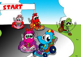 Reptile Kart by JimmyCartoonist