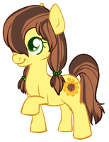 Sunflower Filly by AshiJ