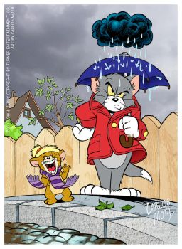 Tom and Jerry by CarlosMota