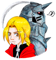 Elric Brothers - Color by Paragons-Saga