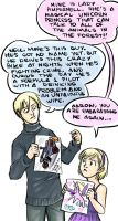 You Draw Real Good, Aaron by Penril