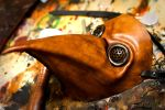 Leather Plague Doctor Mask by OsborneArts