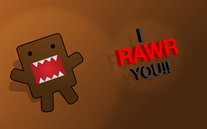 i RAWR you domo by Twisted-Heaven
