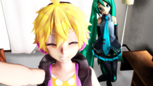 [MMD] YOU RUINED MY SELFIE!!! [MOTION DOWNLOAD] by Guumi-chan