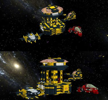 lego space station by ratgash