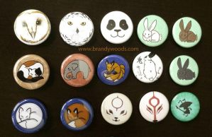 Buttons~! by BrandyWoods