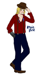 Fancyful Edward Elric by NonieBee