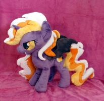 Candy Corn Plushie :OC Plush Trade: by AppleDew