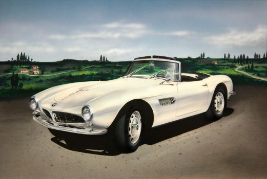 BMW 507 White by Carart