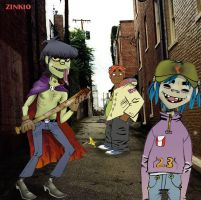 First Gorillaz Group pic by Zink10