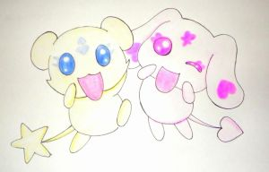mepple y mipple by kary22