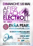 Flyer - After Beach Electro by TikO974