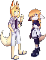 CB:Den and Julia by Blacky-Doll